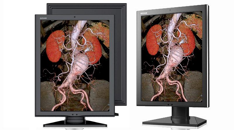 Цветной диагностический монитор JUSHA-C350G